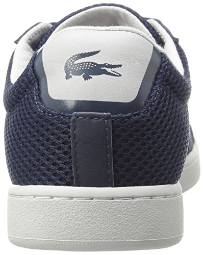 Lacoste Women's Carnaby Evo 416 1 Spw Fashion Sneaker, Navy, 7.5 M US