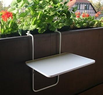 Balkonhängetisch  Amazon.de: Balkonhängetisch, Tisch für Balkon