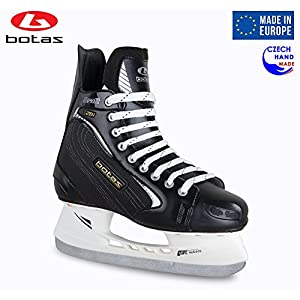 Botas Draft 281 Men's Ice Hockey Skates | Made in Europe (Czech Republic) | Color: Black