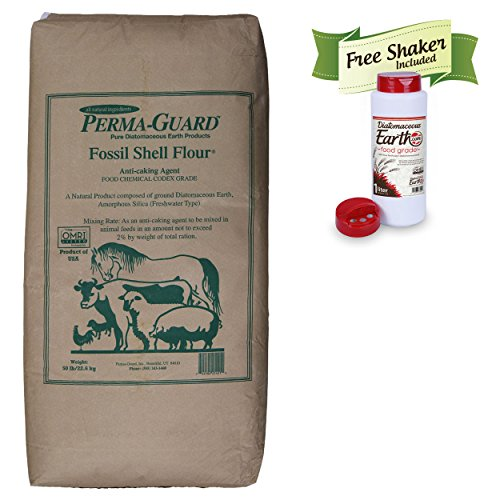 Bundle: Diatomaceous Earth Food Grade 50 Lb with Applicator