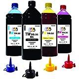 kit 4 Litros Tinta Epson Impressora L575 TW Ink-Jet + Bico