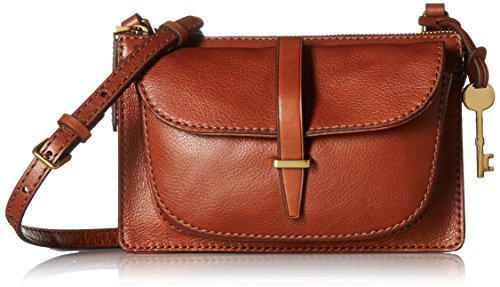 Fossil Ryder Small Crossbody Bag, Brown