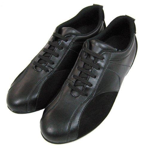Toto-W1611-6,6cm Grande Taille-Hauteur Augmenter Chaussures ascenseur-Noir-Femme