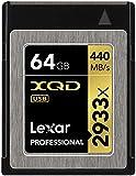 Lexar Professional - Tarjeta de memoria XQD de 64 GB (2933x, 440 MB/s)