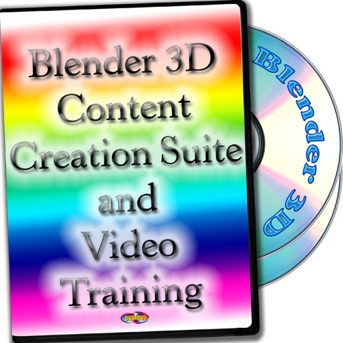 3D Content Creation Suite and Video Training 2-DVDs set for Windows, Mac OS X and Linux by OSplace by PRIZIX