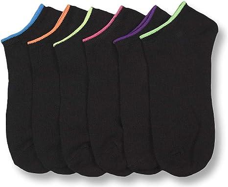 Set of 12 I/&S Womens 12 Pack Low Cut No Show Athletic Socks Womens Socks Size 9-11