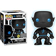 Funko Pop! Vinyl Justice League The Flash Silhouette Glow in the Dark Entertainment Earth Exclusive