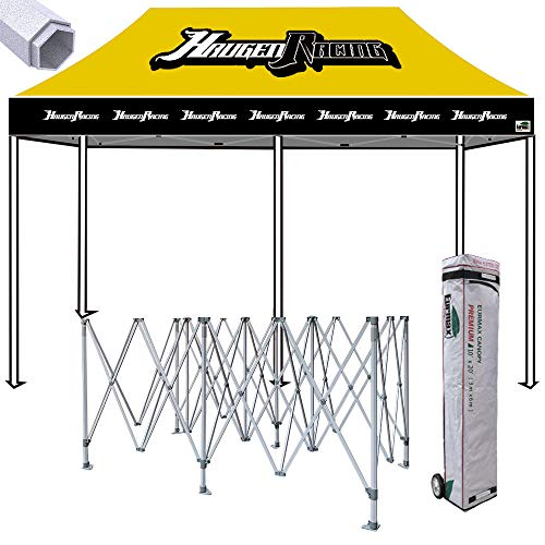 Eurmax Premium 10x20 Ez Pop up Canopy Commercial Tent Imprin