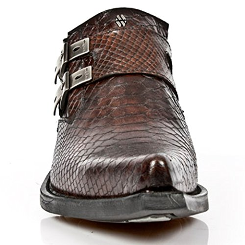 Boots Mens NEWROCK Rock 7934 Nr S4 Brown M New 07qa8wq