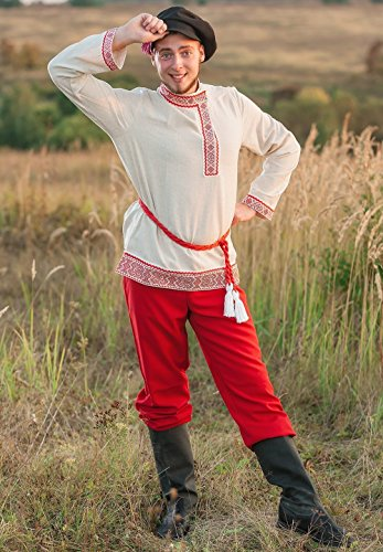 Russian costume men national traditional wear dance (Ukrainian National Costumes)