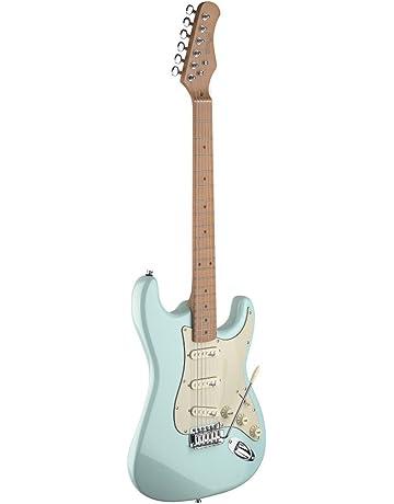 Stagg 25020444 SES50M-SNB S Ser.Vint.Style guitarra eléctrica azul