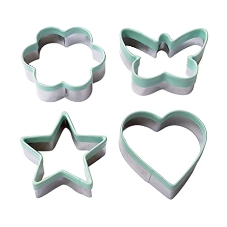 Amazon.com: ecoart Cookie Cutter Set – Estrella Corazón de ...