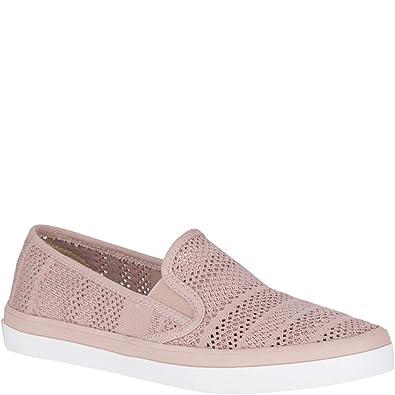 b0e4568dd3ca Sperry Top-Sider Seaside Knit Sneaker Women 5 Rose
