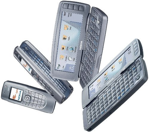 Dual Triband Phones - NOKIA 9300i COMMUNICATOR (VODAFONE UNLOCKED TRIBAND)Full QWERTY keyboard DUAL SCREEN GSM CELLPHONE