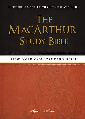 NASB, The MacArthur Study Bible, Hardcover (Tapa Dura)