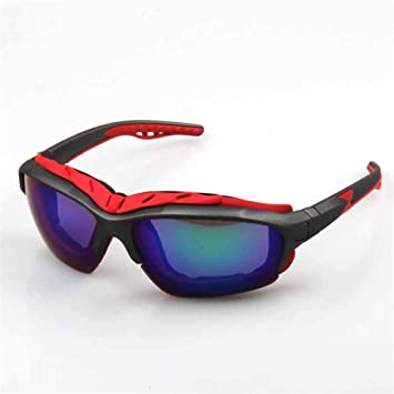 ZKAMUYLC Gafas de Ciclismo Gafas de Sol de Bicicleta Anti Sudor ...