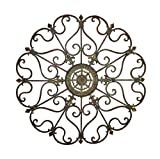 Deco 79 50094 Metal Wall Decor, 29""