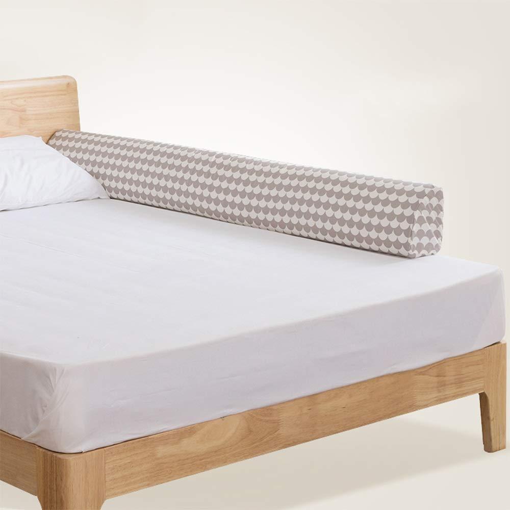 HUO ベッドのフェンスベビーシャッター抵抗フェンスの子供のアンチドロップベッドFoldable 1.5-1.8メートル 省スペース (色 : Gray, サイズ さいず : 150cm) 150cm Gray B07GH29NNT