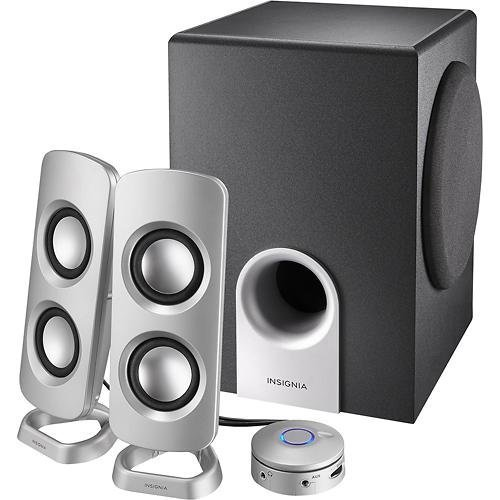 Insignia Speakers With Subwoofer 3 Piece