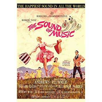 amazoncom the sound of music poster 27x40 julie andrews