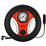 Air Compressor Pump - 12V DC Portable Electric Auto Tire Inflator for Car, Bicycle, Motorcycle, Basketball and Others by Hippih