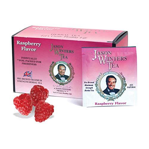 Raspberry Flavored Tea Bags (Jason Winters Red Clover)