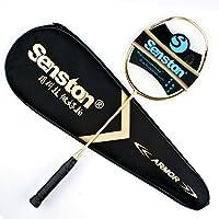 Senston N80 Badminton schläger, Carbon Badmintonschläger, Inklusive...
