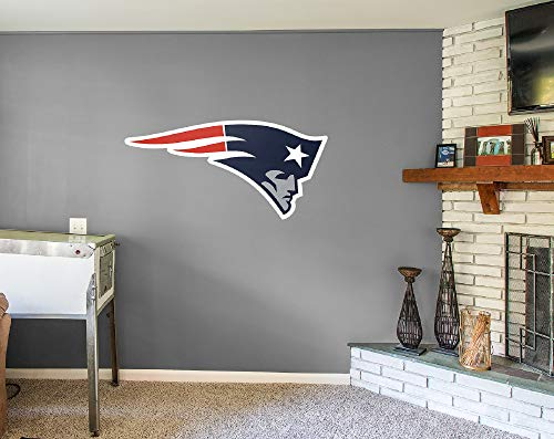 Fathead NFL New England Patriots New England Patriots: Logo - Giant Officially Licensed NFL Removable Wall -