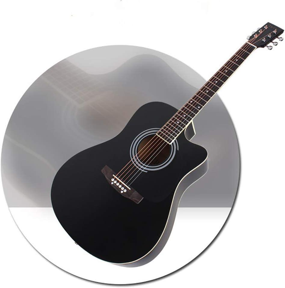 BLKykll Guitarra Acústica,Guitarra Clásica Viene con Un Estuche Profesional, Correa, Paño De Limpieza, Sintonizador Herramientas De Citas Musicales para Principiantes Y Artistas Profesionales