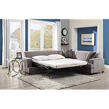 "Amazon.com: Coaster Tess Collection 500727 110"" Sectional with ..."