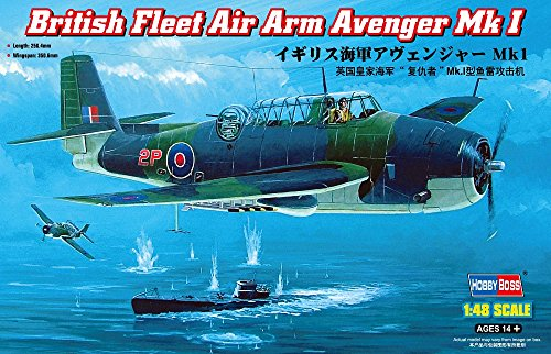 Used, Hobby Boss British Fleet Air Arm Avenger Mk.I Airplane for sale  Delivered anywhere in USA