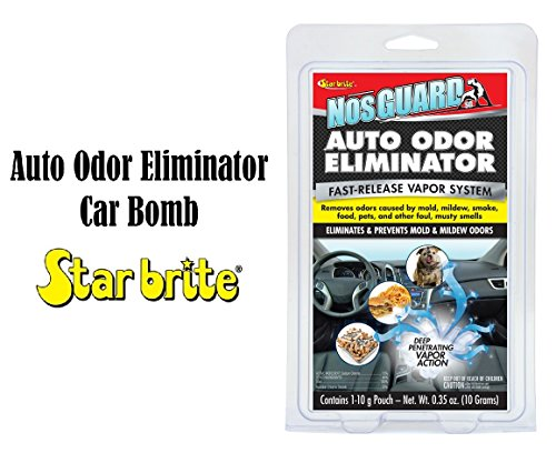 - Star Brite Car Auto Odor Eliminator - CLO2 Odor Control System Car Bomb 19970