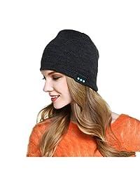 CALIONLTD Wireless Bluetooth Music Beanie Hat Cap