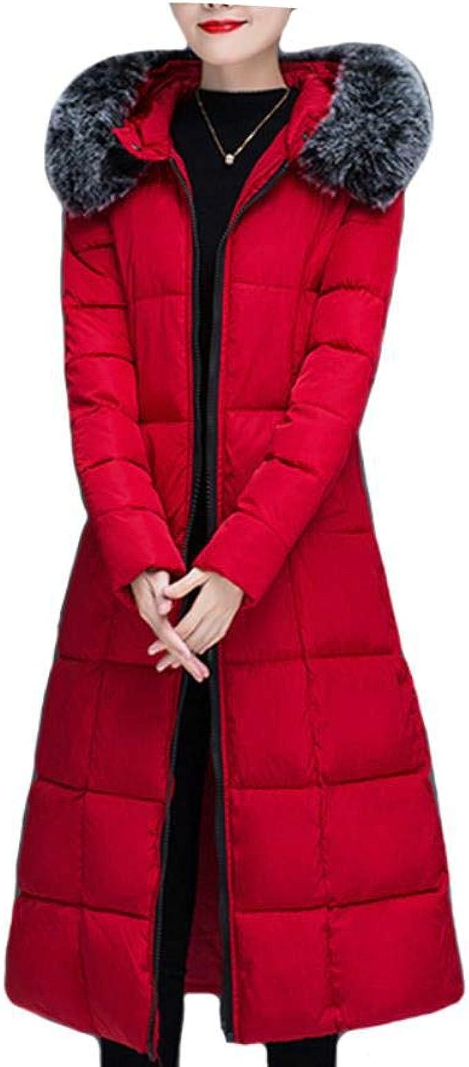XYUANG Chaqueta de Invierno para Mujer algodón Prendas de ...
