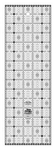 Creative Grids Charming Itty Bitty Eights 5 inch x 15 inch Quilting Ruler by Creative Grids