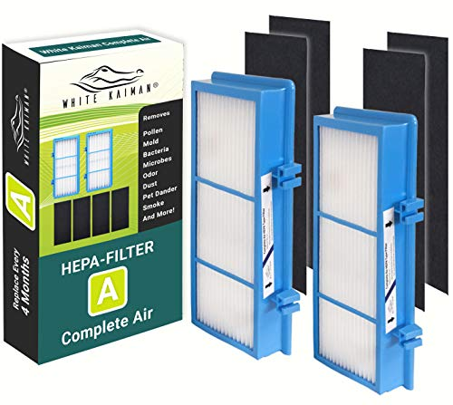 White Kaiman AER1 HEPA Type Air Filters Size A Complete Air HAPF30AT and HAP242-NUC (2)