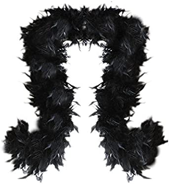 Brand New Mermaid or Flapper Feather Boas Solid Halloween Costume Accessory