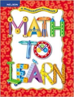 A Mathematics Handbook Grade 1-2 Math to Learn