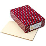 Smead End Tab File Folder, Straight-Cut Extended Tab, Legal Size, Manila, 100 per Box (27250)