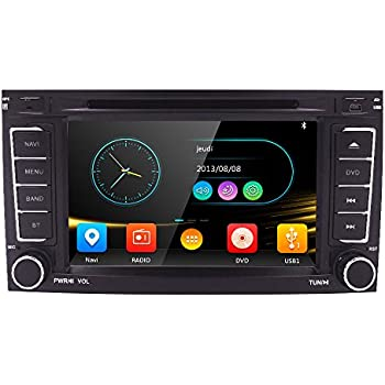 Amazoncom Witson Hd Car Radio DVD Navigation for Vw Volkswagen