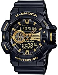 G-Shock GA-400GB Garish Series Watches - Black/Gold / One...