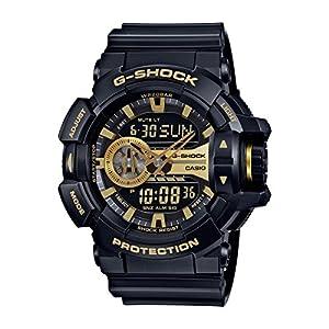 512UCRXqkkL. SS300  - Casio G-Shock GA-400GB Garish Series Watches - Black/Gold / One Size