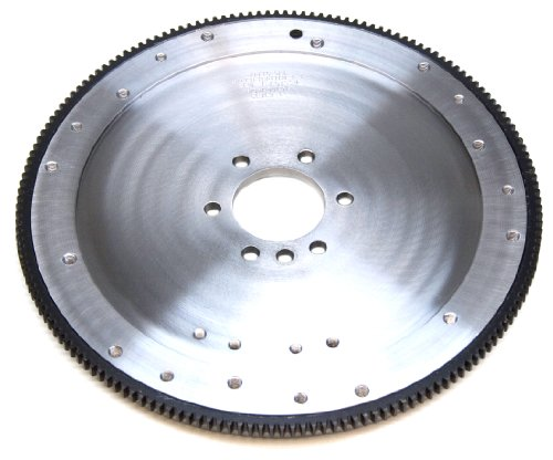 (PRW 1635080 SFI-Rated 32 lbs. 168 Teeth 0-Balance Billet Steel Flywheel for Chevy 265-427 1955-85)