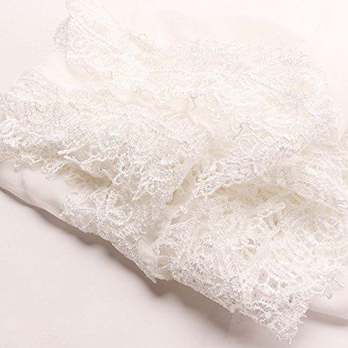 サイトライン銛もMerssavo 女性セクシーな水着レースのかぎ針編みのビキニ水着は、夏のビーチドレス、白をカバー