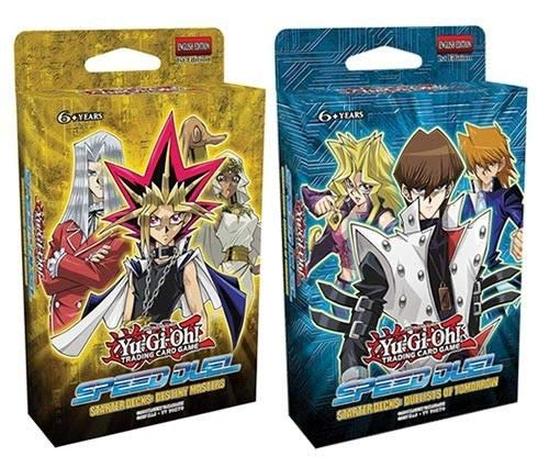 - Yu-Gi-Oh! SS01/SS02 Speed Duel Starter Decks Set of 2-Destiny Masters and Duelists of Tomorrow