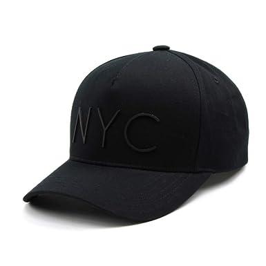 e8ff24dfc7b Flipper Minimal NYC Logo New York City 5 Panels Baseball Ball Cap  Adjustable Cotton Hat for