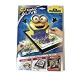 Crayola Color Alive Action Coloring Pages-Minions