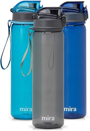 CONTIGO JKH100A01 Water Bottle,24 oz.,Smoke//Gray