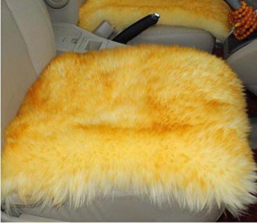 Autositzbezug Wool Auto Kissen im Winter ohne Rücken Kissen Kissen One – Piece Auto – Matten Universal Sets Wolle Pad Cover