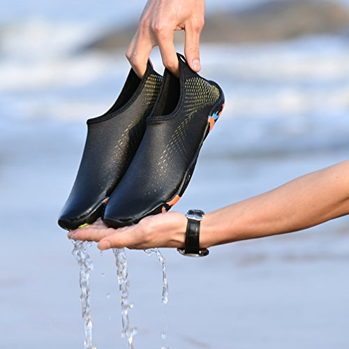 Jaune De Chaussures Natation Snorkeling Schage Hommes D'eau Jindeng Rapide Chaussettes Plage Respirant Plonge Pieds Nus Femmes Aqua Yoga Surf 8A7Uxfdqw
